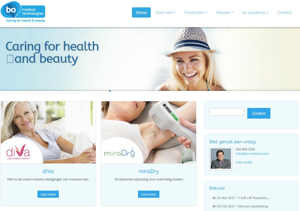 Screenshot bo-medical