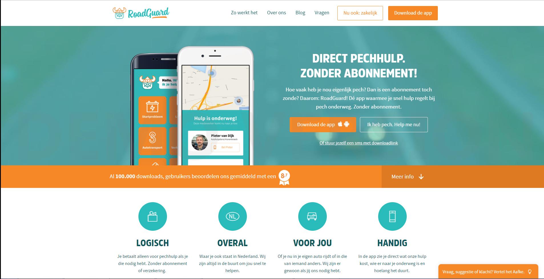 Screenshot RoadGuard