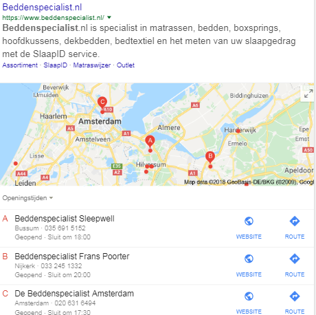 Lokaal adverteren adwords