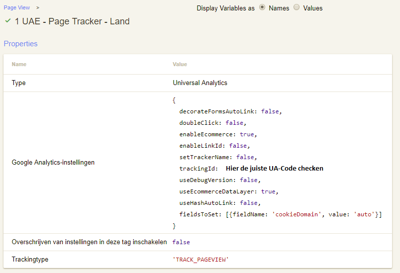 Google Tag Manager GTM Page Tracker