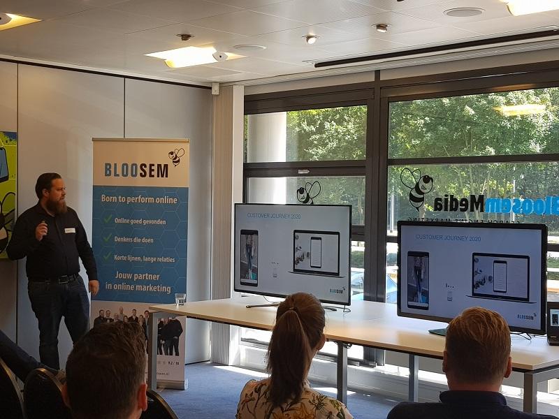 BlooSEM event - Daan Huurdeman presenteert