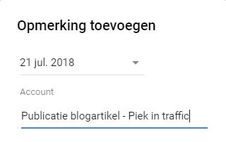Notities Google Ads