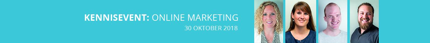 Kennisevent online marketing 30 oktober