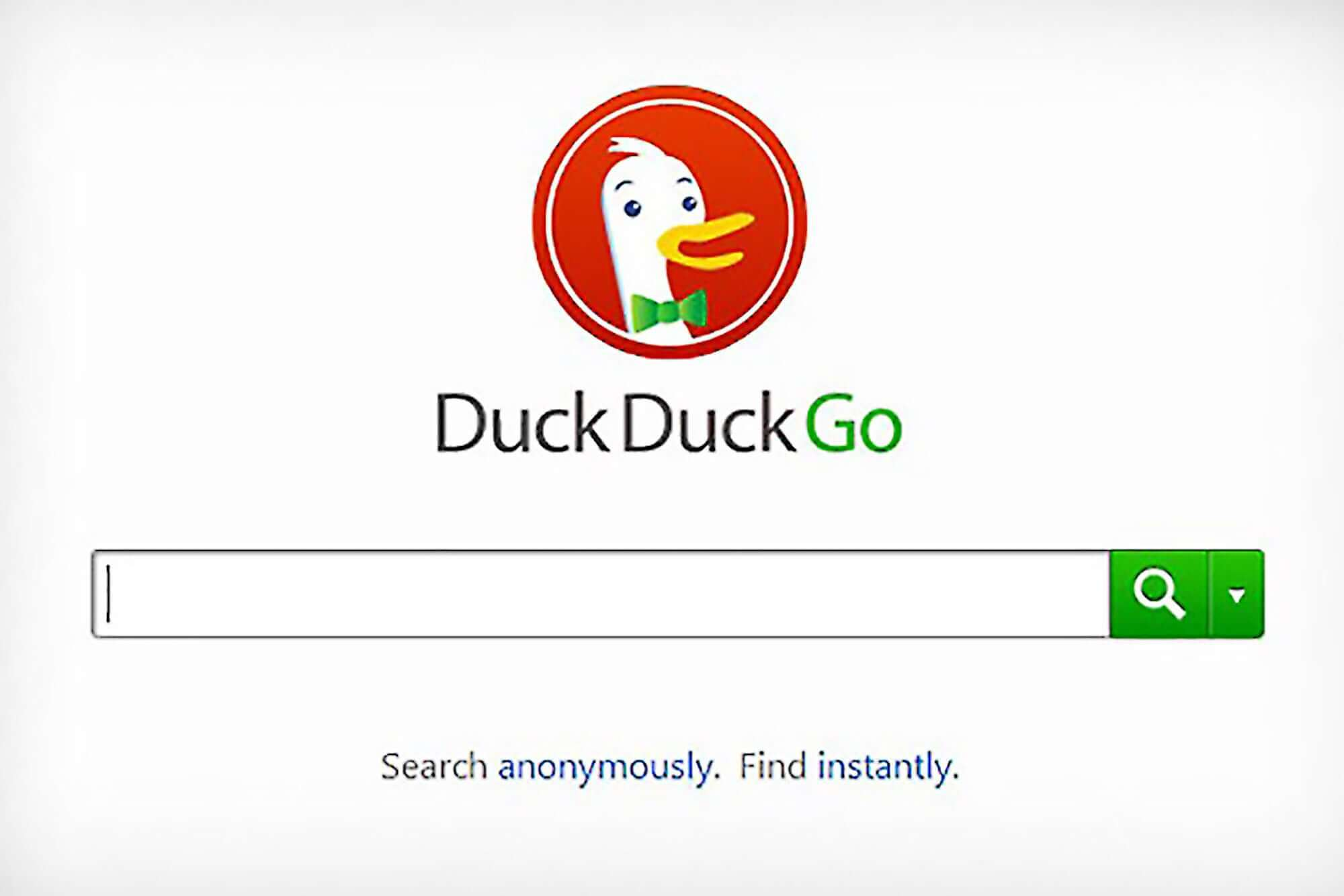 SEARCH ENGINE DUCKDUCKGO GROEIT NOG STEEDS