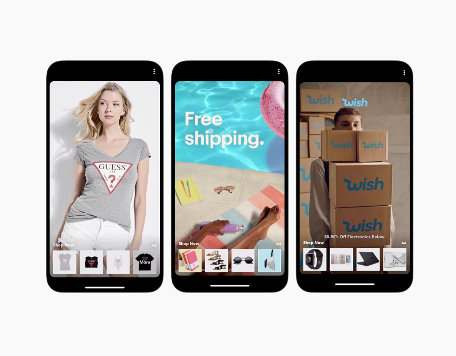 Snapchat lanceert ecommerce ads