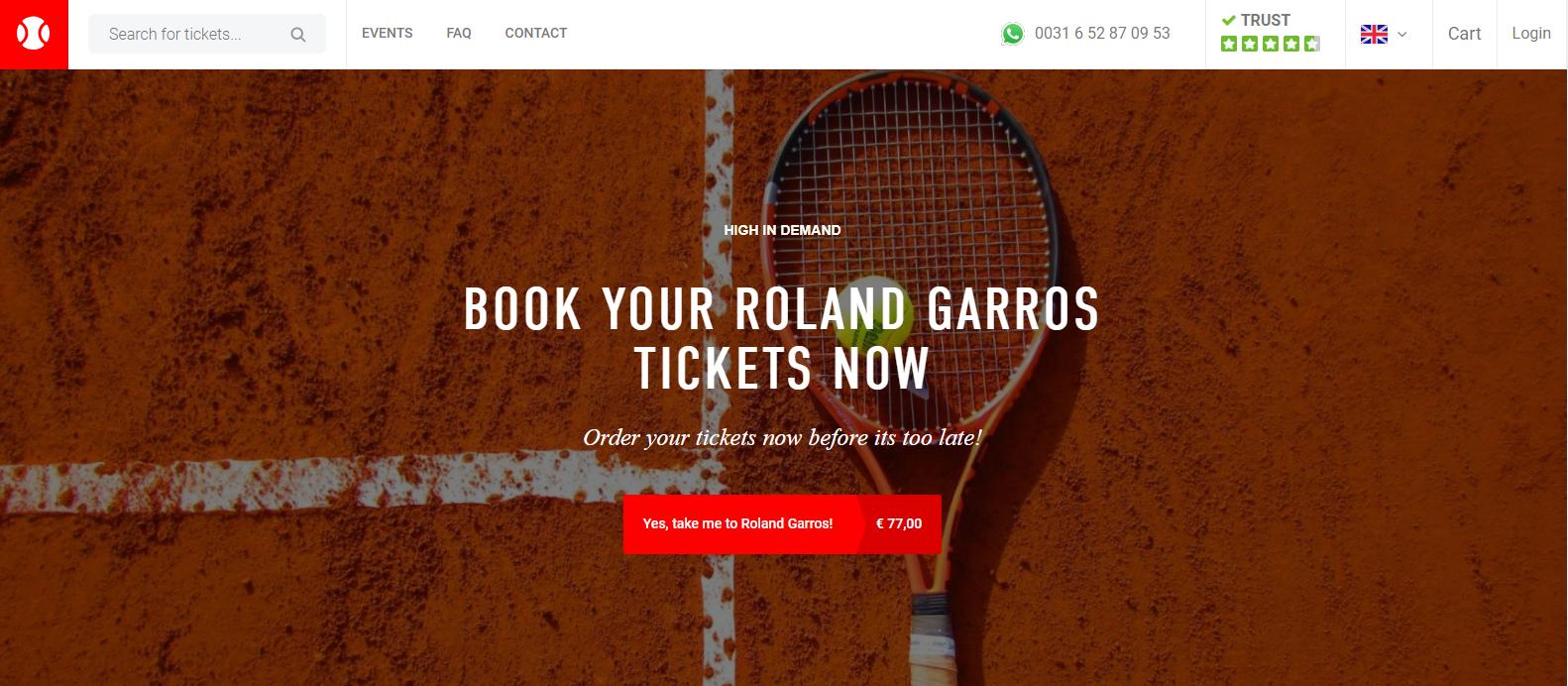 Tennisticketservice