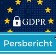Persbericht GDPR