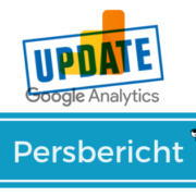 Persbericht Analytics update