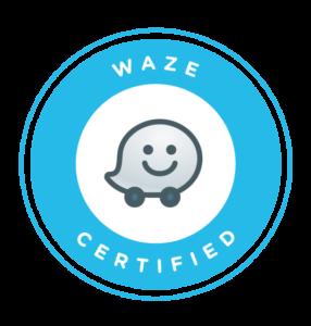 Waze certified badge