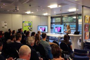 BlooSEM event - Eva presenteert