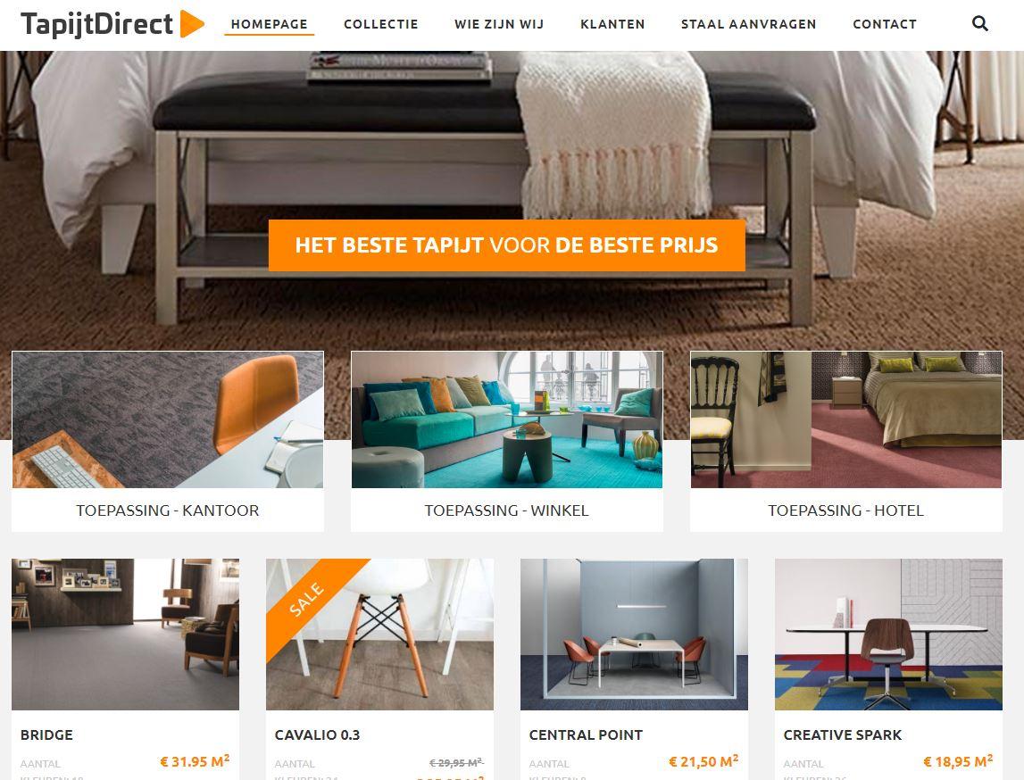 TapijtDirect.nl screenshot