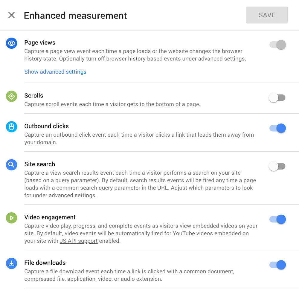 Enhanced measurement web + app