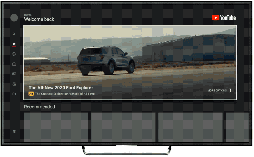 YouTube Ads TV