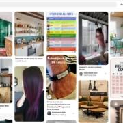 Profielpagina Pinterest