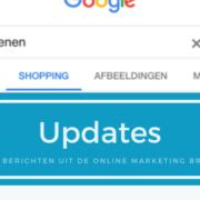 Update Google Shopping