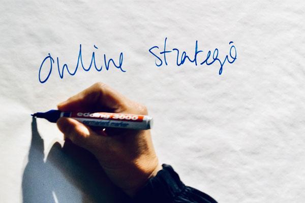 Online strategie whiteboard