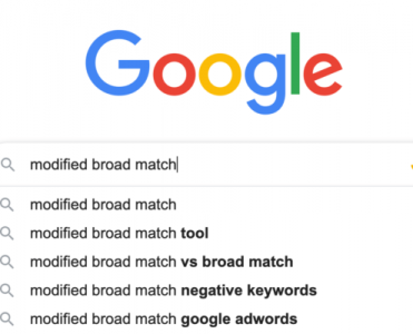 Google Broad Match Modifier